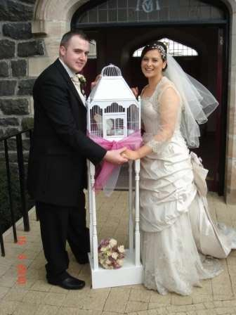 Wedding Chair Covers, Belfast, Northern Ireland / Charm Weddings