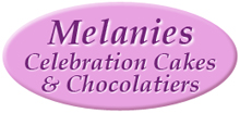 The Wedding Planner Melanies Celebration Cakes and Chocolatiers