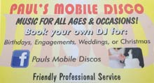 The Wedding Planner Pauls Mobile Discos